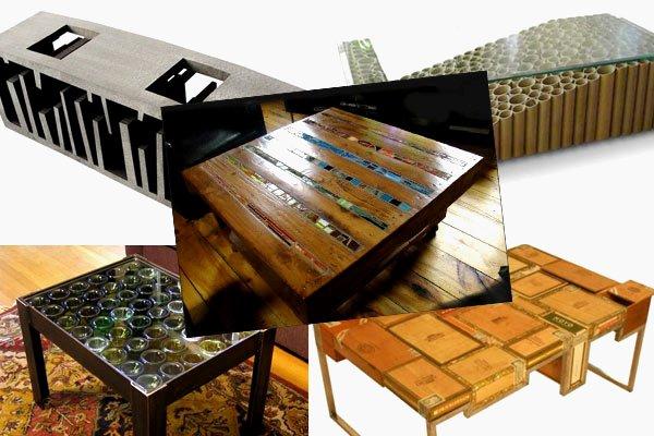Como fabricar muebles con materiales reciclados manuales for Todo en muebles