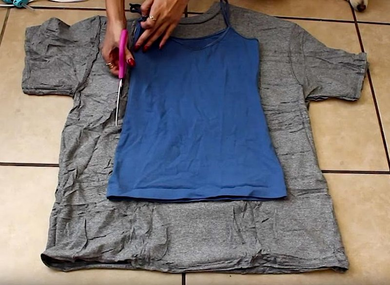 tutorial reciclar ropa usada